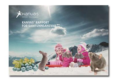 Link til Kanvas' rapport for samfunnsansvar (PDF)